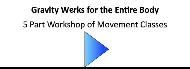 Gravity Werks 5 Part Entire Body Workshop